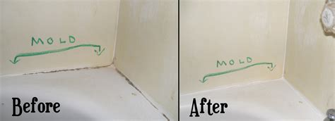 flashback cleaning mold stains from bathtub caulk