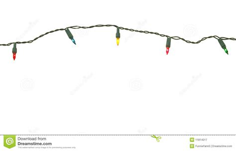 string of christmas lights stock image image of strung
