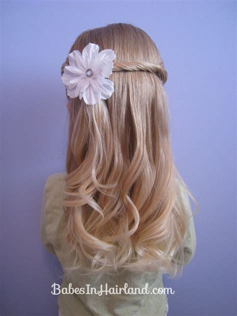 girl hairstyles tips double braided headband any age babes in hairland