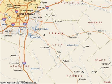 wilson county texas map usgs water resources of the united states