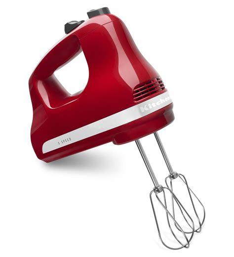 5 Speed Ultra Power? Hand Mixer (KHM512ER Empire Red)