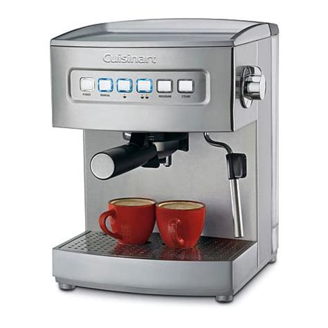 cuisinart programmable 15 bar espresso maker 5824416 hsn