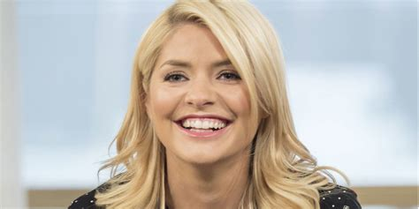 Holly Willoughby gets embarrassed as she admits James