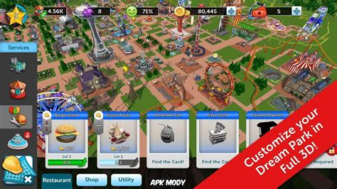 roller coaster tycoon 3 apk rollercoaster tycoon touch 1 12 3 money mod apk 187 apk mody android mod apk
