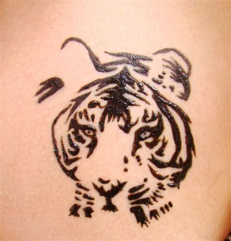 simple tiger tattoo designs henna tiger search henna hennas