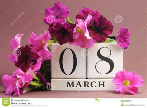 international s day international s day march 8 calendar stock photo
