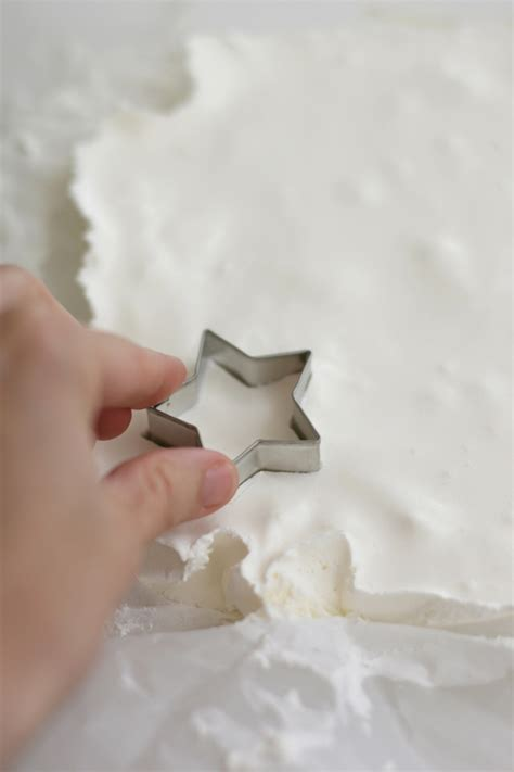 How To Make A Paper Whip - diy cool whip marshmallows say yes