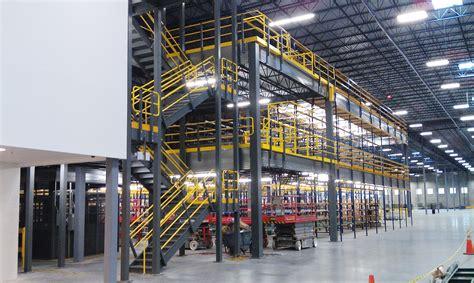 mezzanine design mezzanines warehouse design