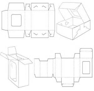 Packaging Folding Templates by Box Template Corrugated And Folding Box