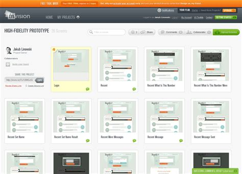 design web application tool wireframes magazine 187 invision prototyping tool