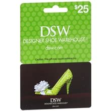 Dsw Gift Card - dsw 25 gift card walgreens