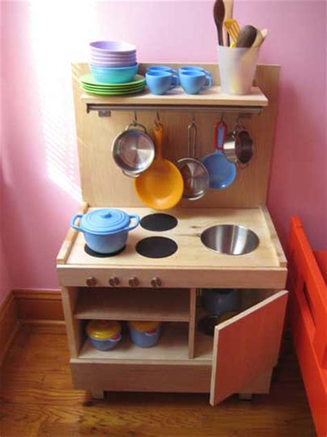 homemade play kitchen ideas bebe a la mode designs homemade play kitchen needs a friend