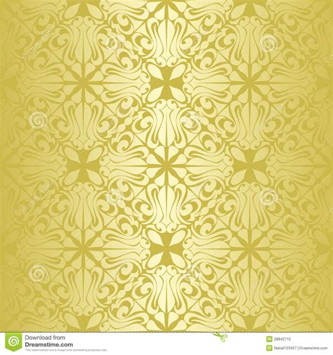 Gold Sea Essllpaper Vector Image Of Gold