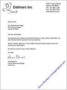 Business Letter Example For A Job Best Photos Of Business Letter Temp Employee Employment