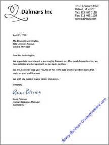 Best Photos Of Business Letter Temp Employee Employment