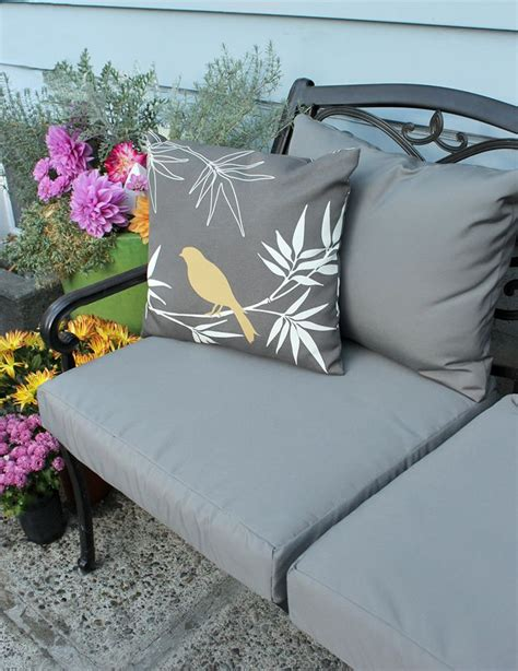 reupholster patio furniture cushions learn how to easily recover your outdoor patio cushions