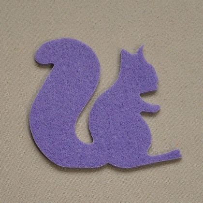 Wisteria Patchwork - squirrel wisteria from fustellificio 2p felt