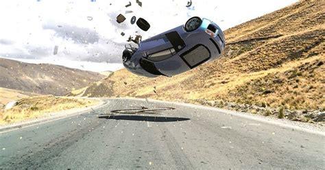 car crash in motion car motion dynamics cg tutorial