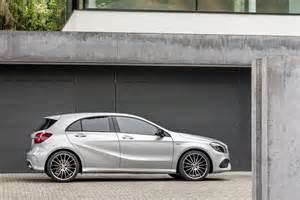 2016 mercedes a class with facelift official photos
