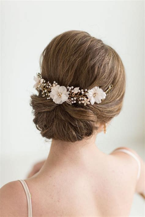 Wedding Hairstyles Hair Accessories by Wedding Hair Vine Floral Hair Vine Bridal Hair Accessory