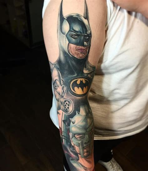 Simple Capture Sleeve 41 cool batman tattoos designs ideas for and females