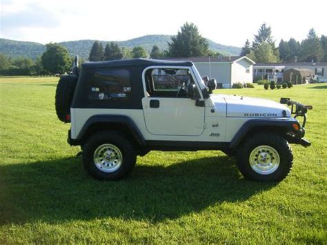 2003 Jeep Rubicon For Sale Purchase Used 2003 Jeep Wrangler Rubicon Sport Utility 2