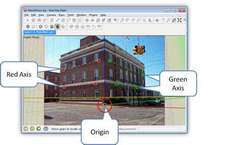 sketchup tutorial match photo sketch your model with match photo cemtech
