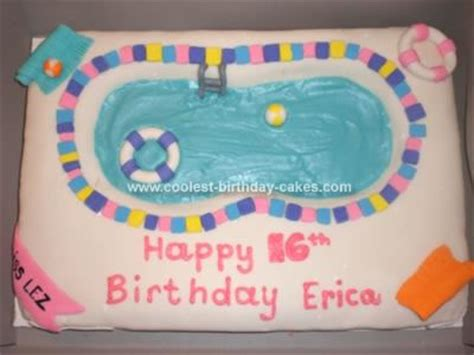 birthday themes yahoo answers pool party cake yahoo answers