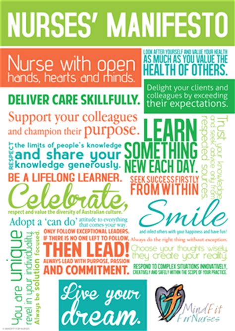 designcrowd minimum budget mindfit nurses manifesto poster design contest brief