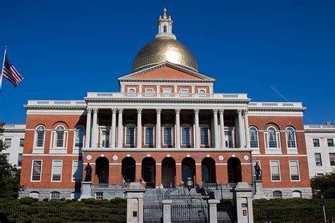 Boston State House by Boston