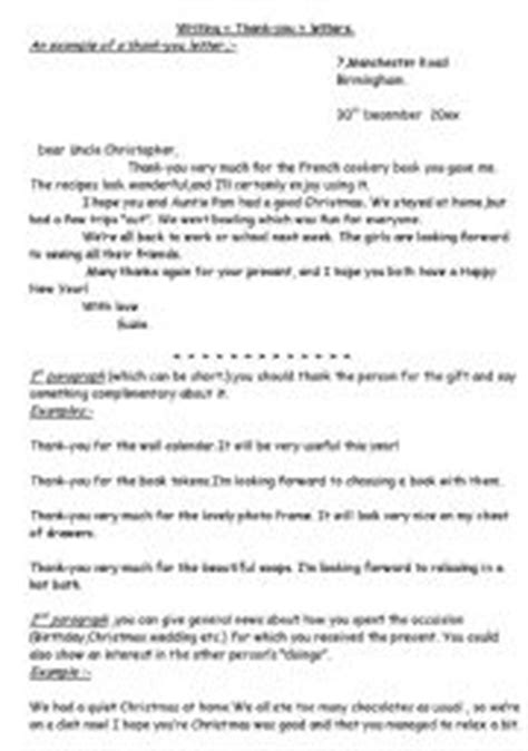 Thank You Letter To Esl Teaching Worksheets Thank You Letter