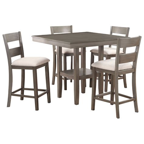 standard furniture dining table standard furniture loft five piece table and chair set