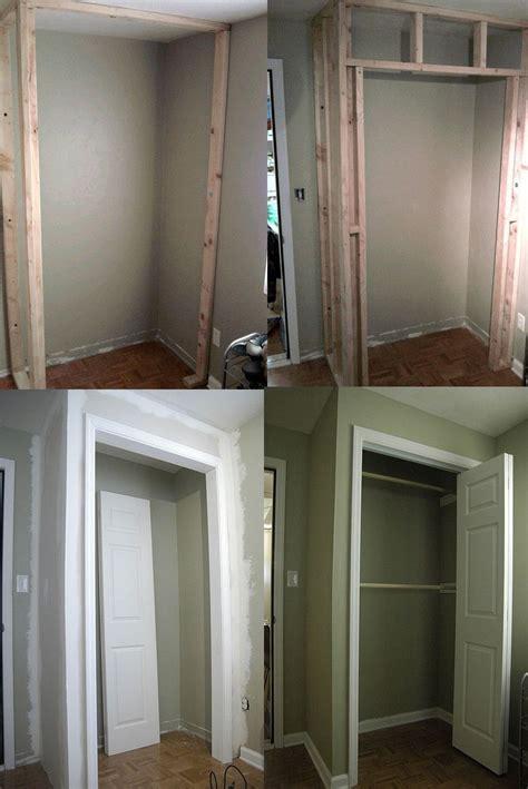 build  closet   existing room closet built