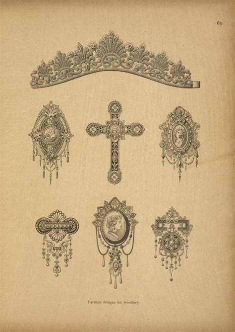 victorian design tattoo 38 best printable designs images on