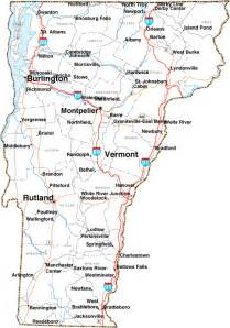 Vermont In Usa Map by Map Of Vermont Maps Details