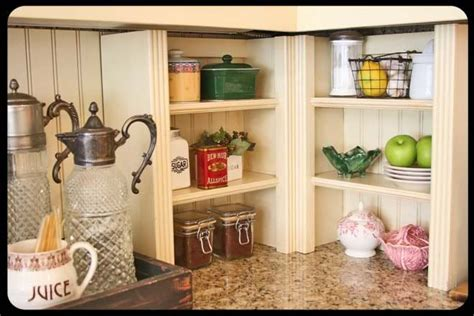 Kitchen Countertop Shelf Kitchen Counter Corner Shelves Kitchens And Soul Of The Home Painted