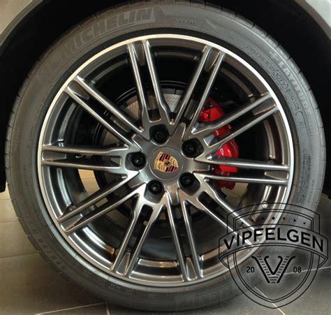 Porsche 21 Zoll Felgen by Porsche Cayenne Sportedition Rad Anthrazit 21 Zoll