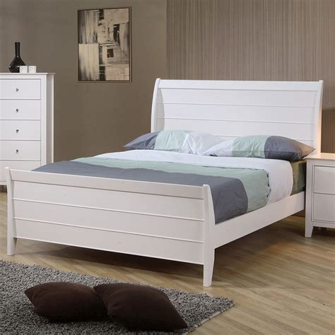 white coastal bedroom furniture dreamfurniture youth sleigh bedroom set