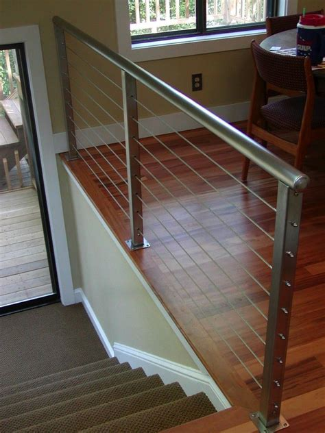 home interior railings stainless steel interior railing san diego cable railings home