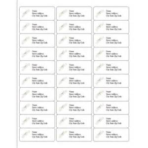 print free address labels 30 per page party invitations