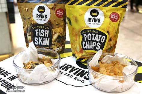 Irvins Salted Egg 105gr 3 irvins salted egg from singapore opens in metro manila food in the bag