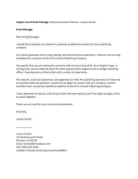 write cover letter how to write email cover letters