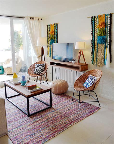 boho chic decoracion lindo departamento con decoraci 243 n estilo boho chic casa