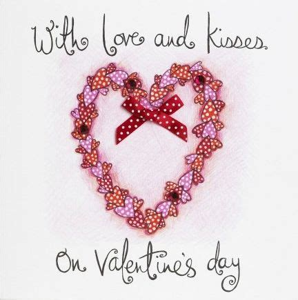 Valentines Kisses by S Day Cards Collection Karenza Paperie