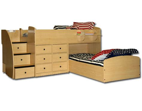 Captain Bunk Beds Berg Furniture Captain S Bed For Two