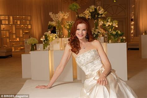 marcia cross tom mahoney wedding wedding dresses idea darcey bussell and natalia vodianova