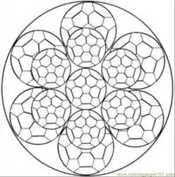 Free Printable Coloring Page Kaleidoscope Med Other &gt  sketch template