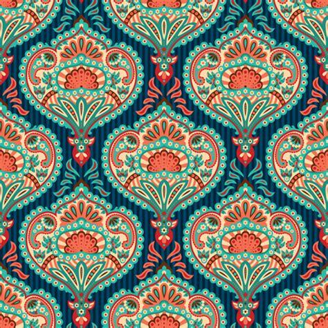paisley pattern wallpaper vector ornate paisley pattern seamless vector material 05