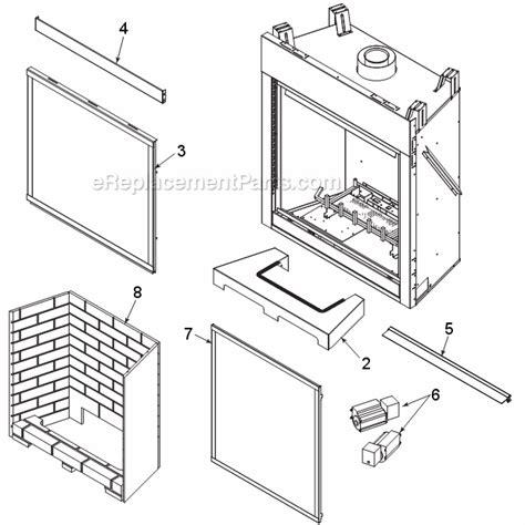 majestic gas fireplace parts majestic 300dvbl parts list and diagram series dvbl7