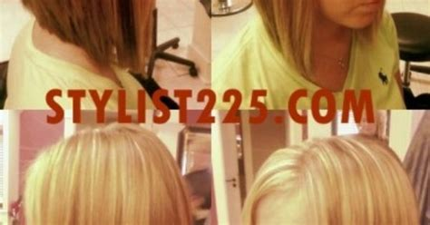 360 view of inverted bob the angled bob cut with 360 176 views hair pinterest